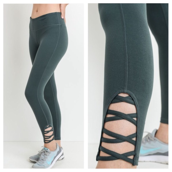 425b3f75600b4 Pants | Clearance Last1 New Xx Green Workout Legging | Poshmark